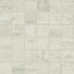 Re-Use Mosaico Calce White | Ceramic tiles | EMILGROUP