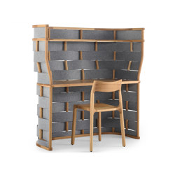 Bower Workpod | Table dividers | nau design