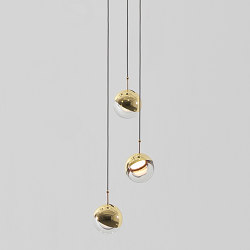 Dora PL3 Pendant Lamp | Suspended lights | SEEDDESIGN