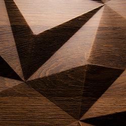 Big Diamond Oak smoked | Chapas de madera | VD Werkstätten