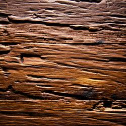 Chopped Wood Larch smoked | Chapas de madera | VD Werkstätten