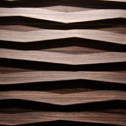 Flame Alpi Oak chocolate | Wood veneers | VD Werkstätten