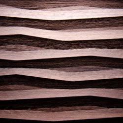 Flame Heartwood walnut | Chapas de madera | VD Werkstätten
