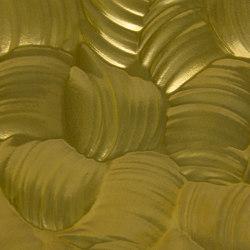 Rocks Gold Real metal | Synthetic panels | VD Werkstätten