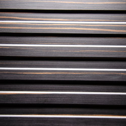 Trapez Alpi Maro Ebony | Wood veneers | VD Werkstätten