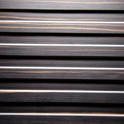 Trapez Alpi Ebony Maro | Wood veneers | VD Werkstätten