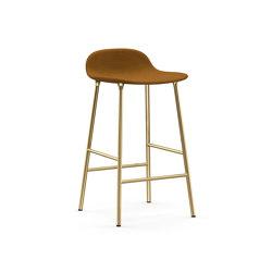 Form Barstool brass | Bar stools | Normann Copenhagen