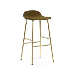 Form Barstool 75 Upholstered | Taburetes de bar | Normann Copenhagen
