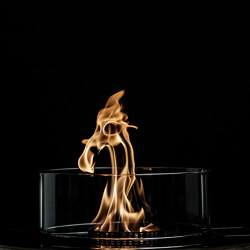 Crea7ionEVOPlus Fire Round | Fireplace inserts | GlammFire