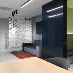 Facet Hanging Room Divider - 170x230cm | Sound absorbing suspended panels | Bloomming