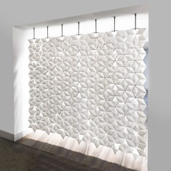 Facet Hanging Room Divider - 238x230cm | Sound absorbing room divider | Bloomming