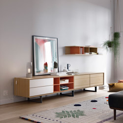 Aura TV Unit | Multimedia sideboards | TREKU