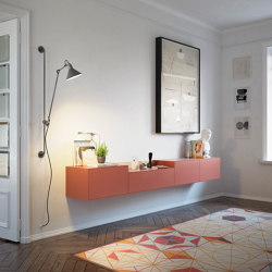 Lauki Wall Sideboard | Credenze | TREKU