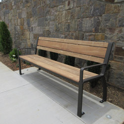 MLB970-W Bench | Benches | Maglin Site Furniture