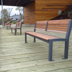 MLB720-W Bench | Bancos | Maglin Site Furniture
