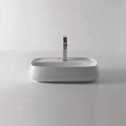 Washbasin 60cm x 45cm | Wash basins | Alice Ceramica