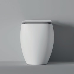 WC and Bidet BTW NUR | WC | Alice Ceramica