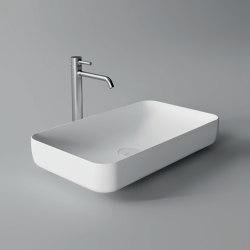 FORM Washbasin Rectangular Bowl | Wash basins | Alice Ceramica