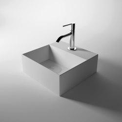 Washbasin 30cm x 30cm | Wash basins | Alice Ceramica