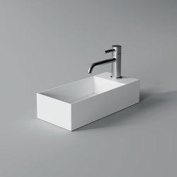 Washbasin 45cm x 20cm | Wash basins | Alice Ceramica