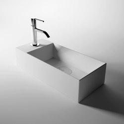 Washbasin 45cm x 20cm | Lavabos | Alice Ceramica