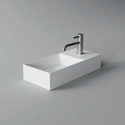 Washbasin 55cm x 25cm | Wash basins | Alice Ceramica