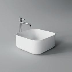 Washbasin Unica 37cm x 37cm | Wash basins | Alice Ceramica
