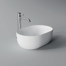Washbasin Unica 45cm x 31cm | Wash basins | Alice Ceramica