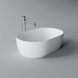 Washbasin Unica 55cm x 35cm | Wash basins | Alice Ceramica