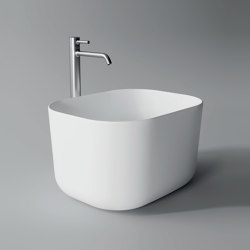 Washbasin Unica Rectangular | Wash basins | Alice Ceramica