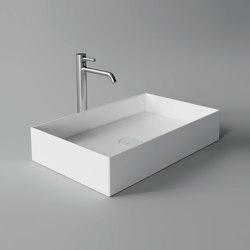 Washbasin Hide 60cm x 37cm | Wash basins | Alice Ceramica