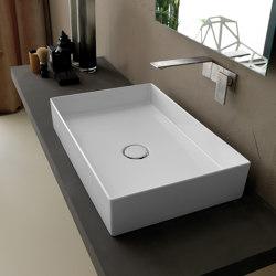 Waschbecken Hide 60cm x 37cm | Waschtische | Alice Ceramica
