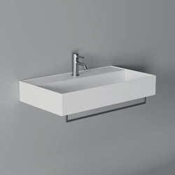 Washbasin Hide 80cm x 45cm Wall Hung | Wash basins | Alice Ceramica