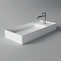 Washbasin Hide 85cm x 37cm | Wash basins | Alice Ceramica