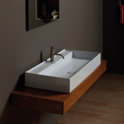 Washbasin Hide 100cm x 45cm | Wash basins | Alice Ceramica