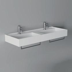 Washbasin Hide 120cm x 45cm | Wash basins | Alice Ceramica