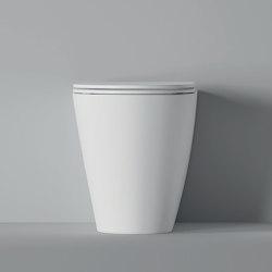 WC Hide BTW Round 57cm x 37cm | WC | Alice Ceramica