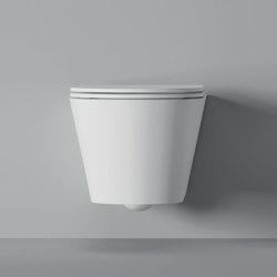 WC Hide Hung Round 57cm x 37cm | WC | Alice Ceramica