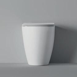 WC Form BTW Square Traslato | WC | Alice Ceramica