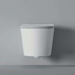 WC Form Hung Square | WC | Alice Ceramica