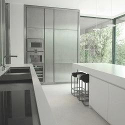 Igloo Prog. 015 Stratocolor white | Island kitchens | STRATO