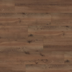 wineo PURline® Planks | Village Oak Brown | Rubber flooring | Mats Inc.