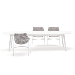 Ellisse table | Dining tables | Varaschin