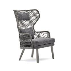 Emma bergère armchair | Sillones | Varaschin