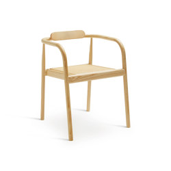 Ahm chair | Natural Ash with cane seat | Chairs | Please Wait to be Seated