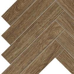 ARBOR Cognac Herringbone 36,2x41,2 | Ceramic tiles | Atlas Concorde