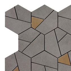 Boost Smoke Mosaico Hex Yellow | Ceramic tiles | Atlas Concorde