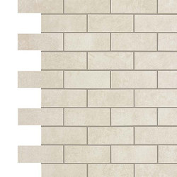 BOOST White Minibrick | Mosaicos de cerámica | Atlas Concorde