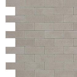 BOOST Grey Minibrick | Ceramic mosaics | Atlas Concorde