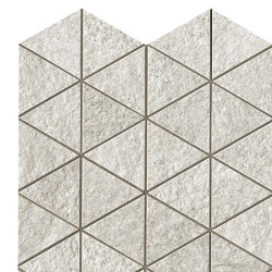 Klif White Triangles | Ceramic mosaics | Atlas Concorde